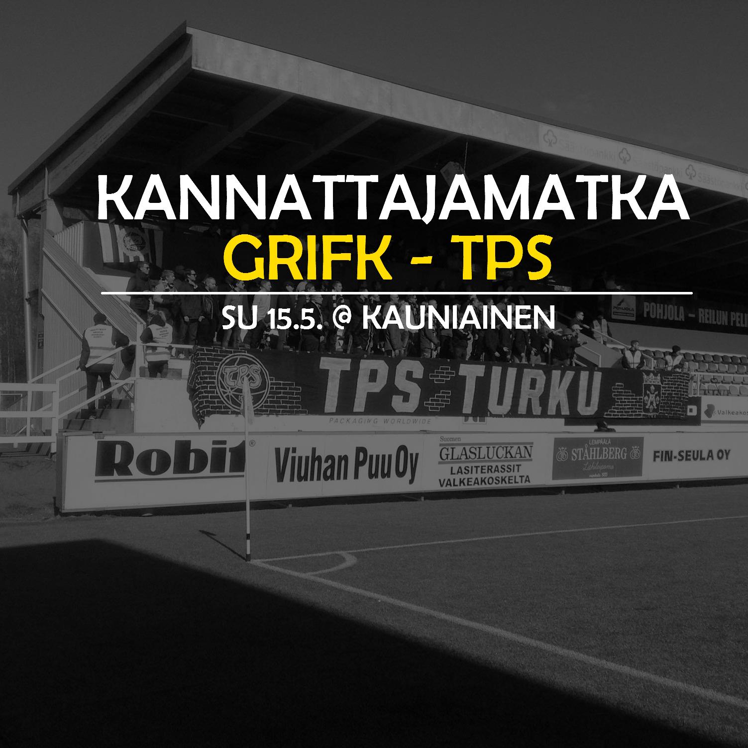 Kannattajamatka: GrIFK – TPS 15.5.