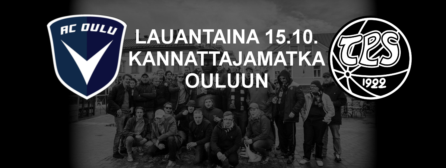 Kannattajamatka Ouluun la 15.10.