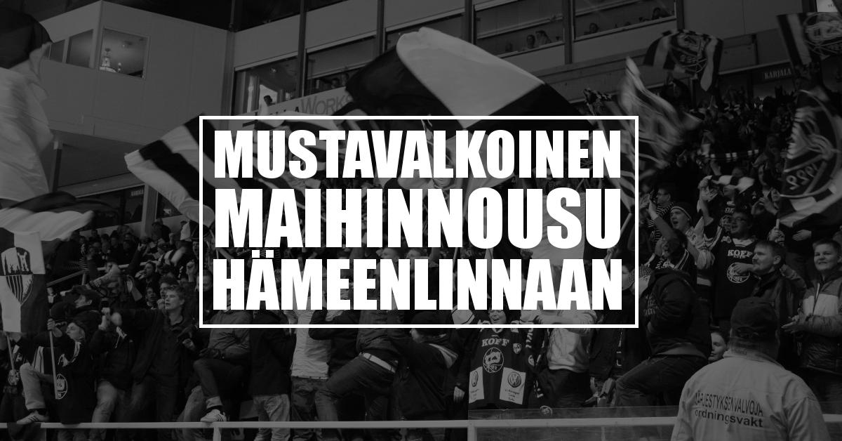 Mustavalkoinen maihinnousu: Hämeenlinna (loppuunmyyty)