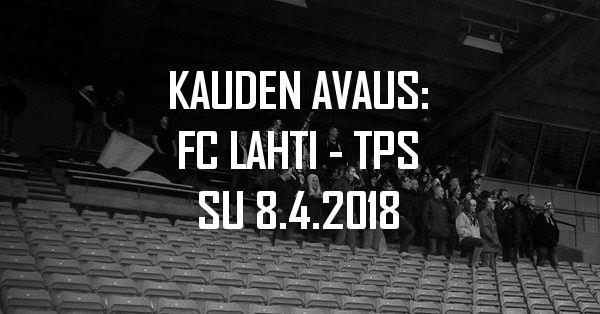 Kannattajamatka: FC Lahti – TPS su 8.4. (kauden avaus)