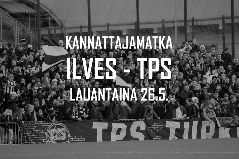 Kannattajamatka: Ilves – TPS la 26.5.