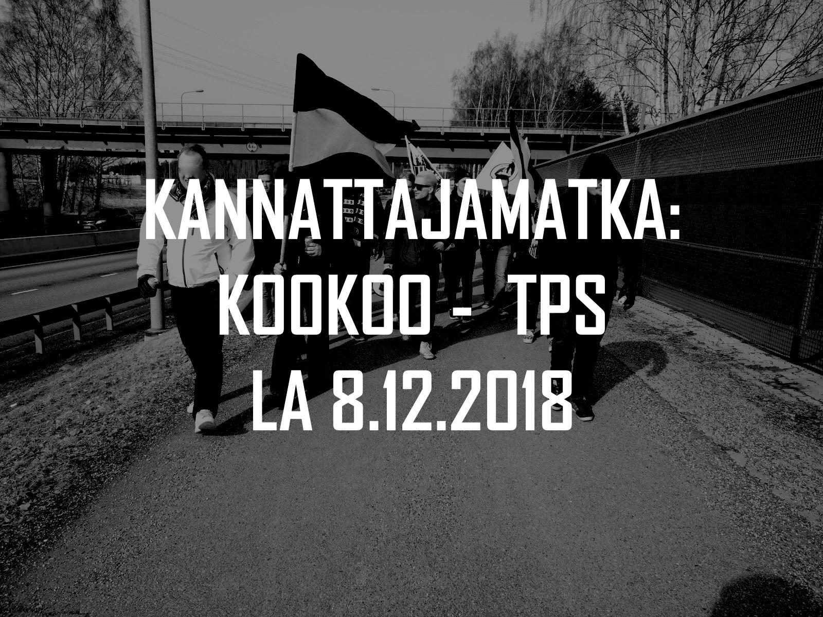 Kannattajamatka: KooKoo – TPS la 8.12.