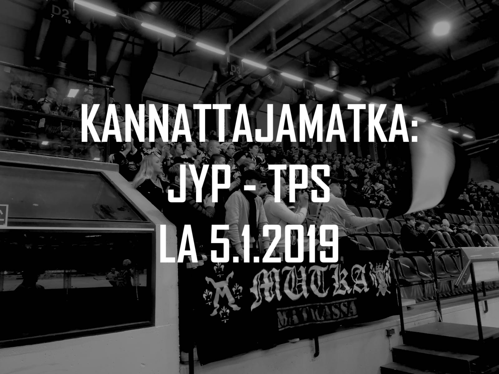 Kannattajamatka: JYP–TPS 5.1.2019