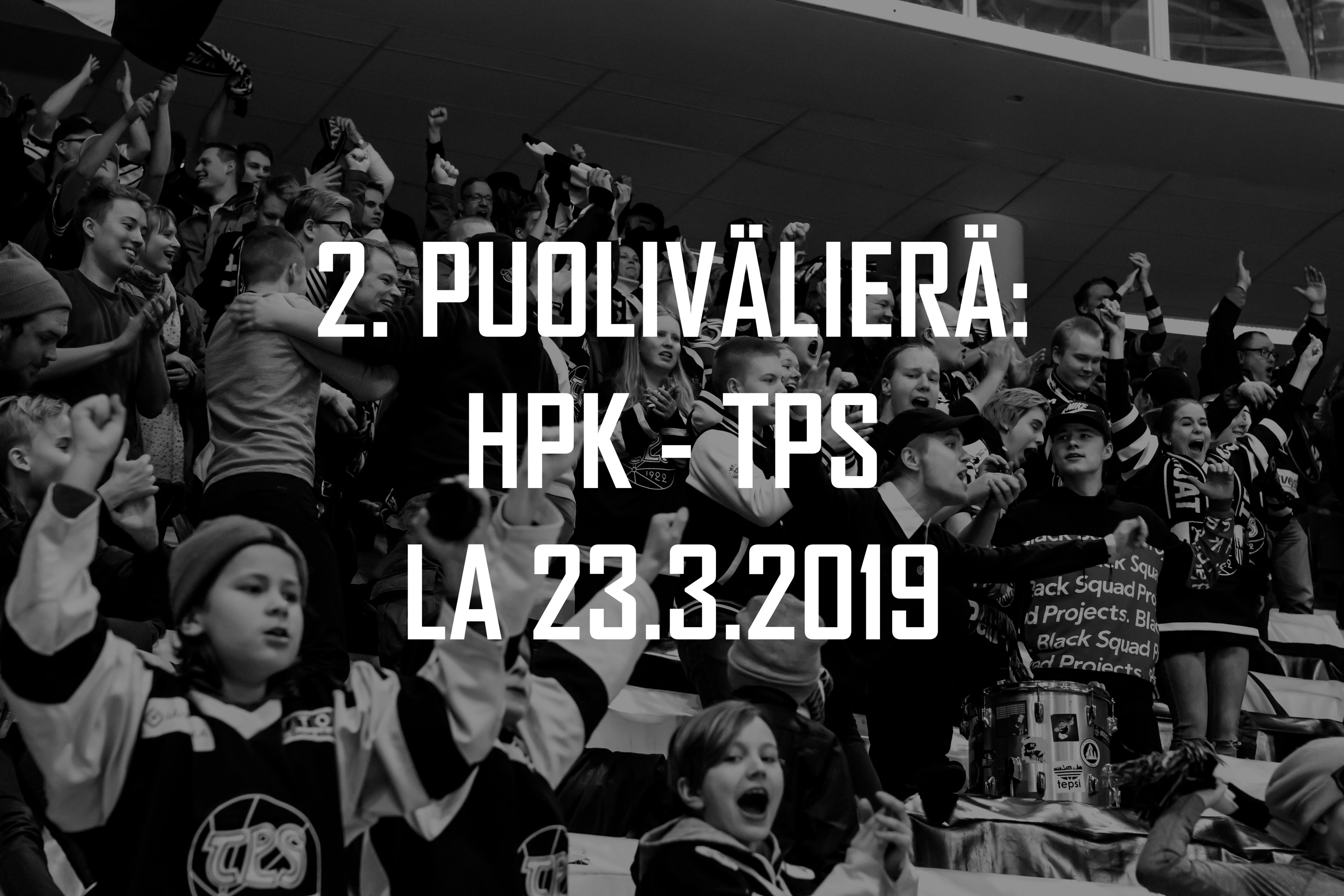 Kannattajamatka: HPK – TPS 23.3.2019 (2. puolivälierä)