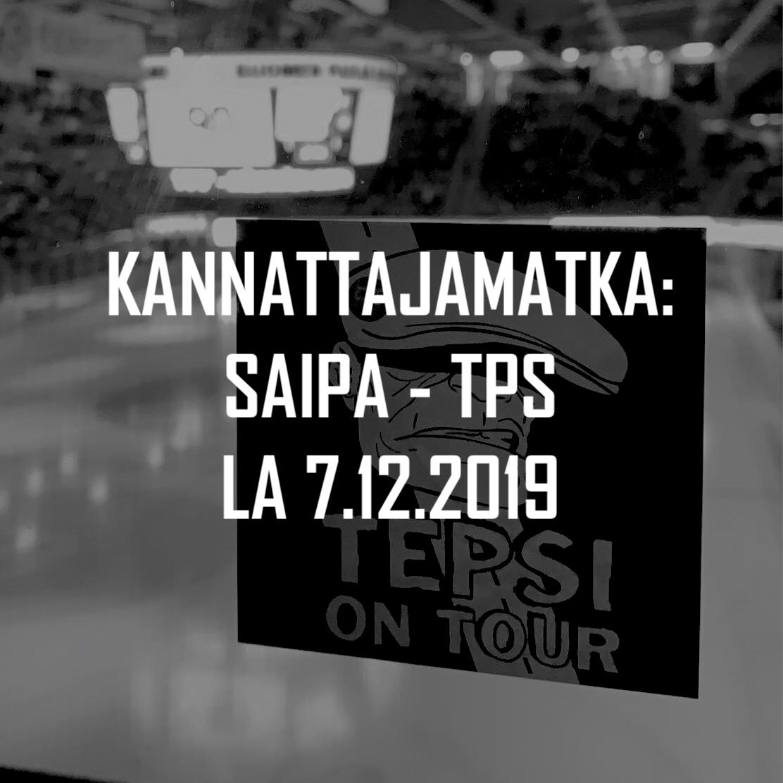Kannattajamatka: SaiPa – TPS 7.12.2019