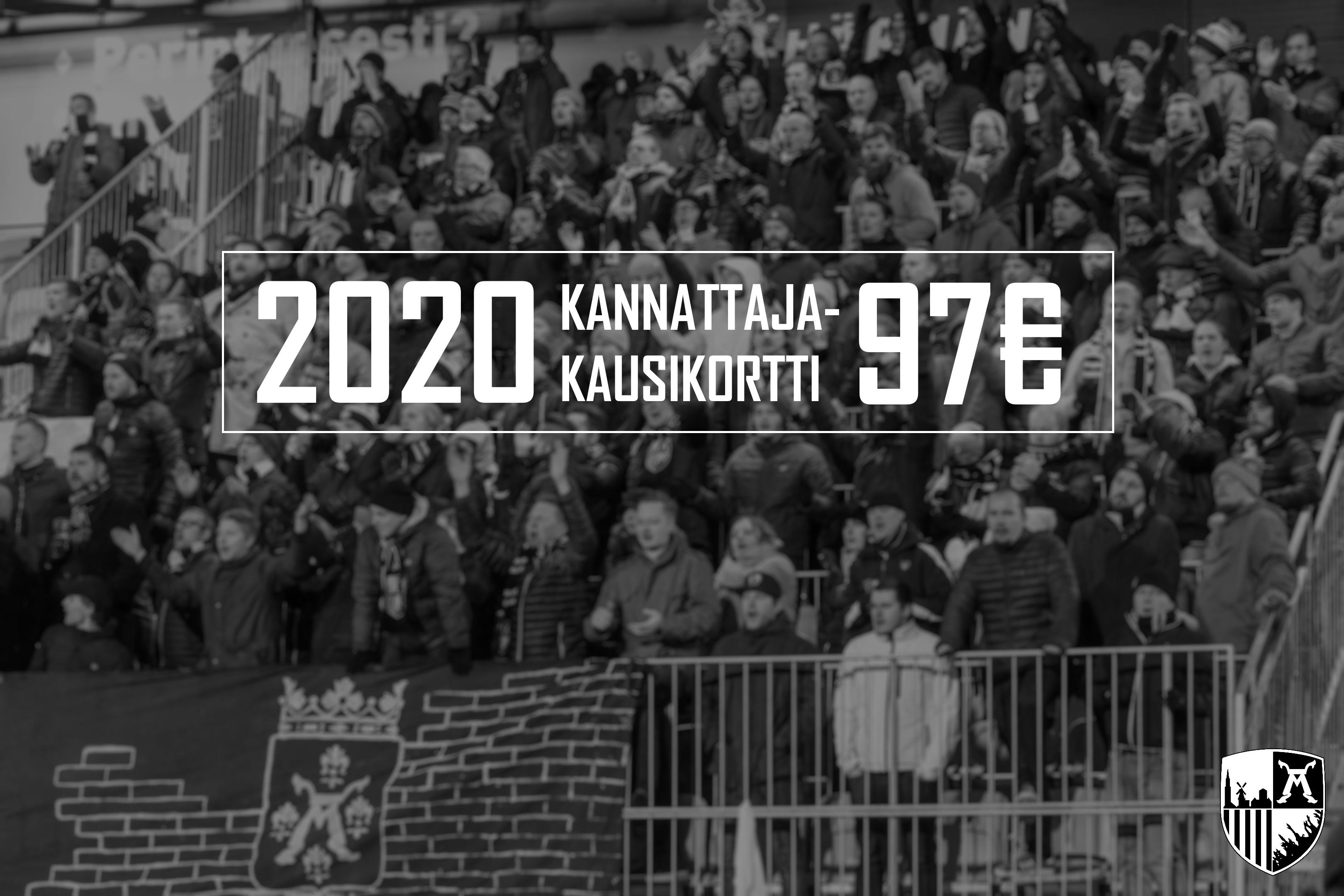 Jalkapallon kannattajakausikortit 2020