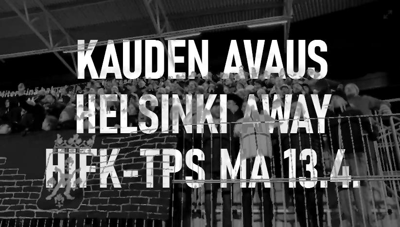 Helsinki Away – kauden avaus