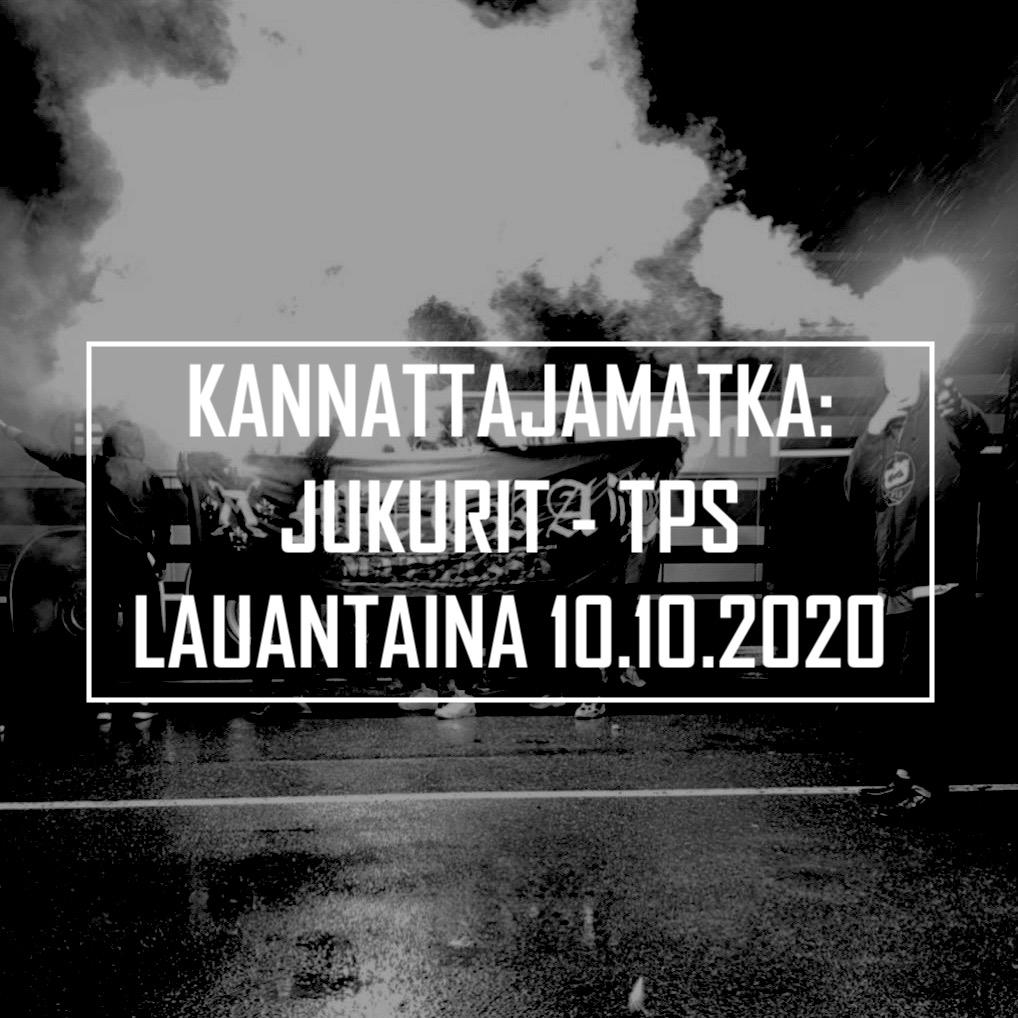 Kannattajamatka: Jukurit – TPS 10.10.2020